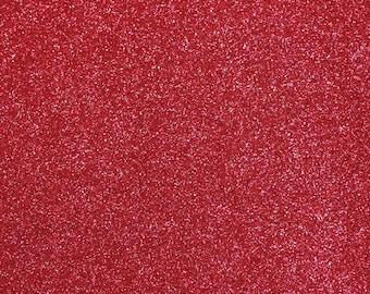 FINE Glitter Fabric. Dark Pink. 100cm x 130cm. JR09162