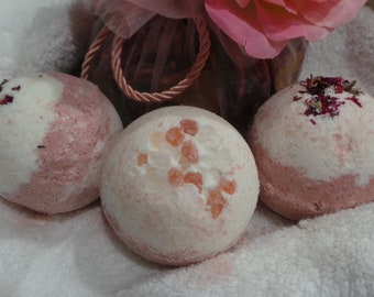 Sparkling Champagne Bath Bombs 3, 4oz. for 9 dollars