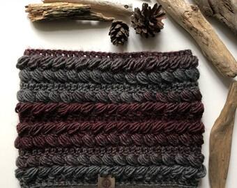 Textured Cowl unisex - Animus Cowl