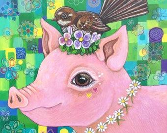 Princess Daphne - fine art print
