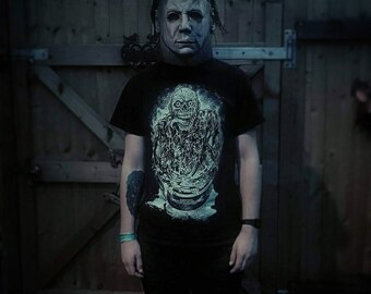 The return of the living dead tarman horror t-shirt