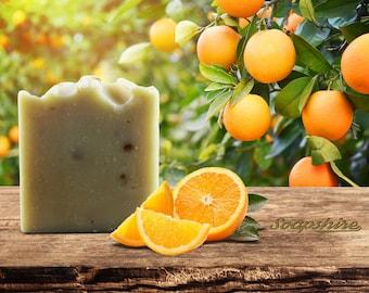 Handmade Vegan Orange Soap - Natural Pie Soap (20g, 100g, Promotion, Wholesale)
