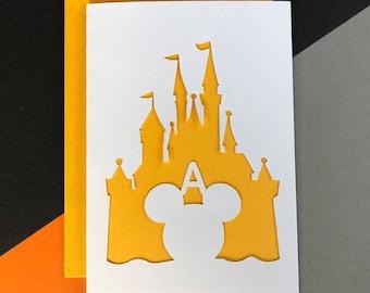 Disney Castle Birthday Card