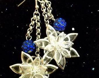 Edelweiss Pendant Earrings