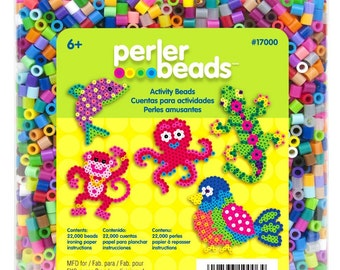 NEW Best Price! Perler Beads 22,000 Count Bead Jar Multi-Mix Colors - FAST SHIPPING!!!