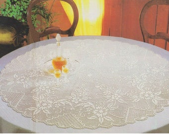 Round Tablecloth- RTBFL-003