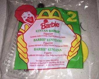 MCDONALD'S Happy Meal KENYAN   BARBIE 1995 # 2 new old stock vintage 2L