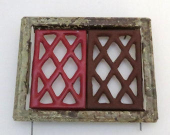 Keystone Replacement swing-out diamond pane windows