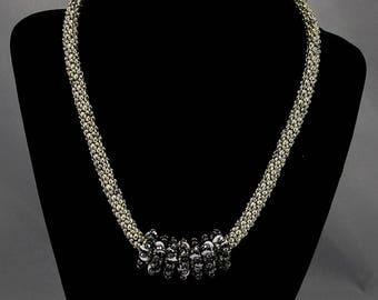 Silver add a bead necklace