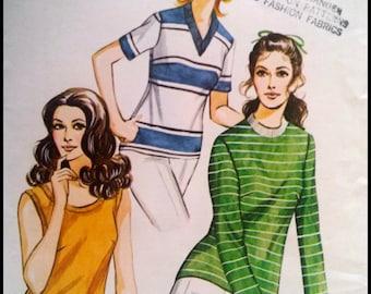 Kwik Sew Pattern  304  ladies' Knit Top  Sizes (14-18)
