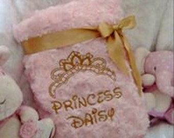 Princess Rosebud furry blanket