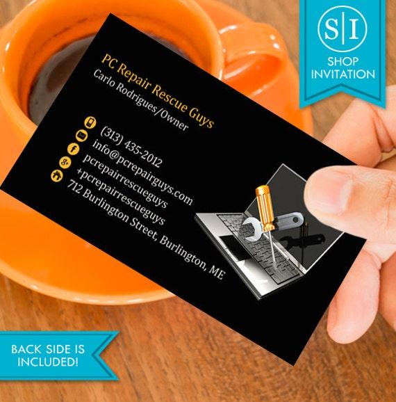 Computer repair business card free shipping from shopinvitation on computer repair business card free shipping colourmoves