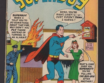 Superboy, 1963, vol 1, #105, 2.0 (GD)