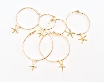 Gold Delicate Hoops - Thin Gold Hoops - Simple Hoops - Medium Gold Hoops - Lightweight Hoops Gold Large Hoops - Small Gold Hoops Gold Filled