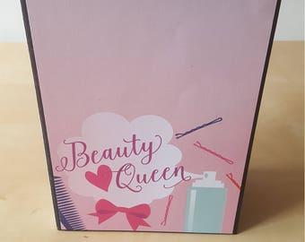 Beauty Queen - 5x7 Scrapbook Photo Album