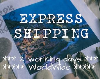 Express shipping // 2-4 working days // WorldWide
