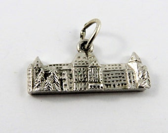 Banff Springs Hotel and Resort Sterling Silver Charm of Pendant.