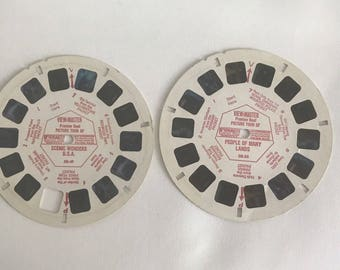 VINTAGE View-Master Reels retro GAF *view master *reel -- Picture Tour of Scenic Wonders USA DR49 DR56