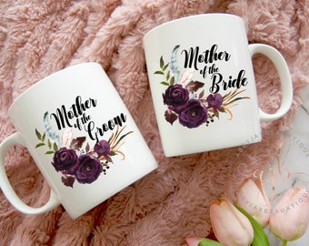 Mother of the Bride Gift - Mother of the Groom Gift - Mother of the Bride Mug - Mother of the Groom - Custom Wedding Coffee Mug