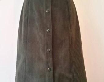 Vintage style Corduroy Skirt