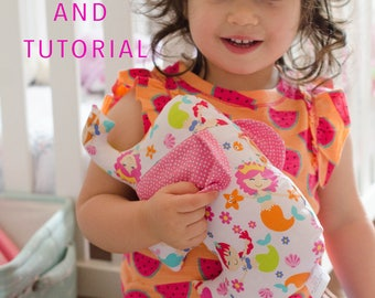Sewing Patterns for Baby - Elephant Sewing Pattern - Sewing Pattern Stuffed Animal - PDF Sewing Pattern - Instand Download Pattern - DIY