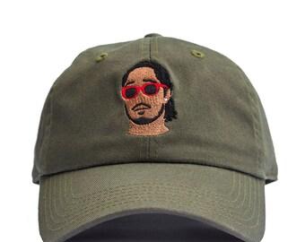 Olive Green Future Dad Hat Baseball Cap
