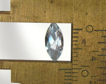 Aquamarine Faceted Marquise - 10X5mm Natural Faceted Gemstone Birthstone: LSAqua10X5mmMarq