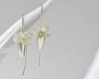 Shed Cluster Drop Earrings
