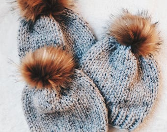 The Super Bulky Toque- Knitting Pattern