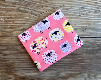 Sheep Bi-Fold Wallet