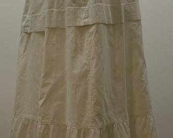 Victorian Edwardian Anne of Green Gables Long Cotton Petticoat