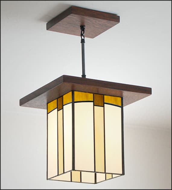 mission style kitchen lighting craftsman style pendant light entryway amp kitchen 7540