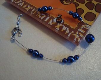 Fancy handmade blue