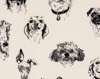Dog fabric SK228