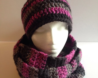 All Infinity scarf without button and regular women Hat