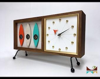 "Mid Century Modern  ""2270A Clock"""