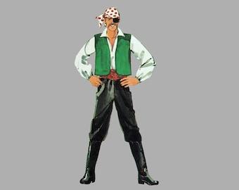 1982 Costume pattern Simplicity 5742 Size small Bust 32 - 34, Magician Santa Claus Ballerina tutu, Pirate Vampire, Aladdin Harem girl