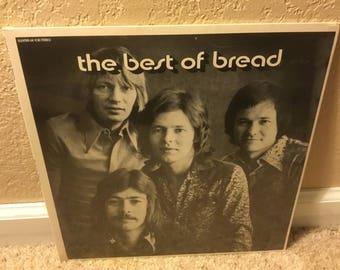 Sealed The Best Of Bread LP Gatefold Vinyl Record 6E-108