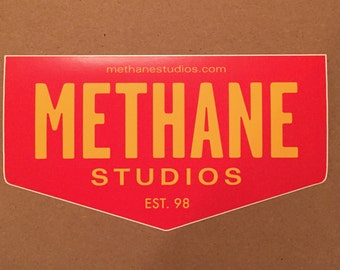Methane Studios Sticker