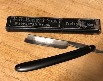 Vintage WH Morley & Sons Straight Razor