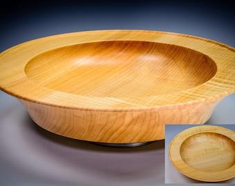 Figured Maple Platter