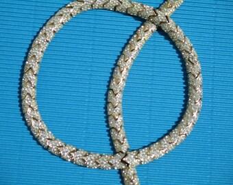 Ciner-PRICE REDUCTION  Rare Vintage Signature CINER 18 in. Choker/Bracelet Jewelry Matching Set