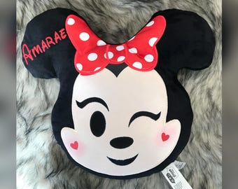 Personalized Minnie Mickey Mouse Pillows