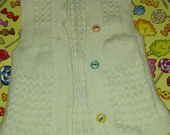 Hand made. Baby wool sweaters.