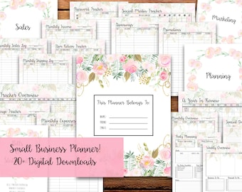 Small Business Planner, Printable - INSTANT DOWNLOAD - Direct Sales Planner // Lip, Lula, Mary, Scent