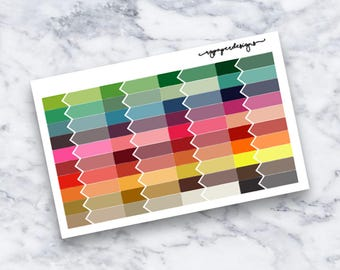 Activity Labels   Multicolored   Functional   Planner Stickers   ECLP   Happy Planner