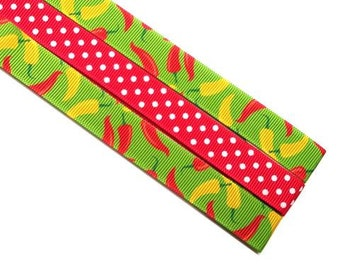 Pattern Magnet - Chart Keeper Magnetic Bookmark - Chili Peppers