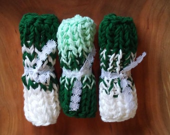 Chunky Wash Cloths (Green)