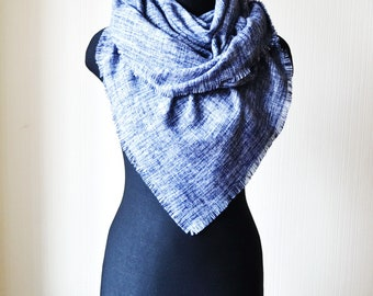 chunky shawl womens scarves blue scarf blanket scarf birthday gifts oversized scarf womens gift large scarf shawl wrap winter scarf