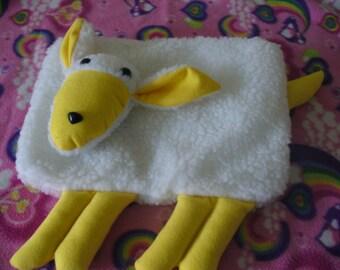 Yellow Lamb Pajama Bag